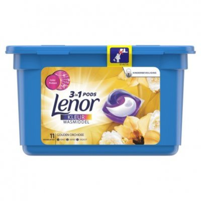 Lenor 3in1 pods gouden orchidee wascapsules