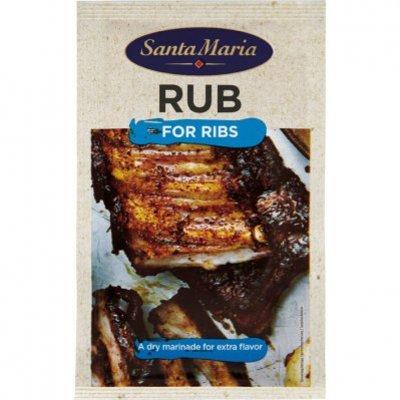 Santa Maria BBQ & grill rub for ribs