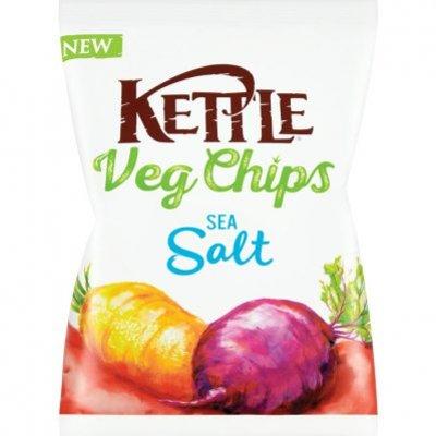 Kettle Vegetable chips sea salt
