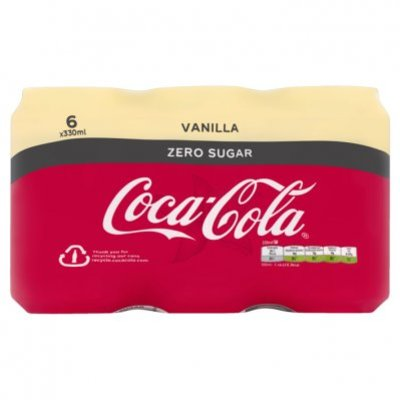 Coca-Cola Zero sugar vanilla