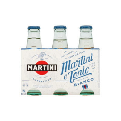 Martini Bianco & Tonic 150 ml 3-pack