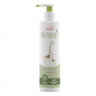 Zwitsal Naturals shampoo & wasgel