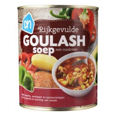 Huismerk Rijkgevulde goulash soep met rundvlees