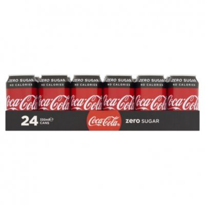 Coca-Cola Zero sugar tray