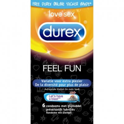 Durex Emoji feel fun