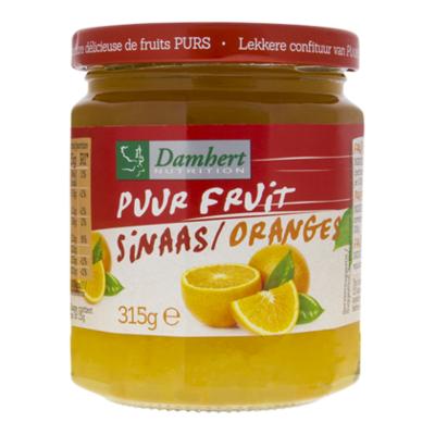 Damhert Puur fruit confituur sinaas