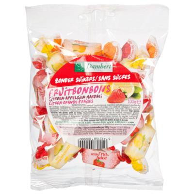 Damhert No sugar added fruittoffee