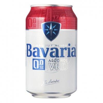 Bavaria 0.0% alcoholvrij bier blik
