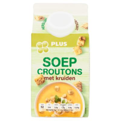 Huismerk Soep croutons met kruiden