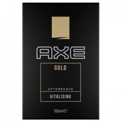 Axe Aftershave gold