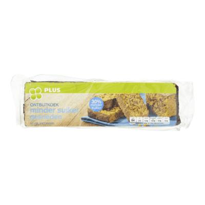 Huismerk Ontbijtkoek naturel minder suiker gesn