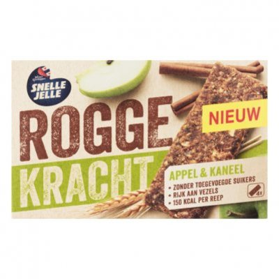 Snelle Jelle Roggekracht appel & kaneel fruitreep