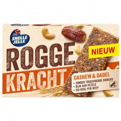 Snelle Jelle Roggekracht cashew & dadel fruitreep