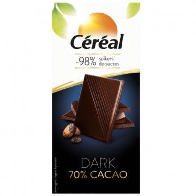 Céréal Chocolade tablet 70%