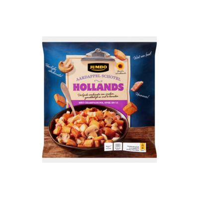 Huismerk Hollands Aardappel Schotel met Champignons, Spek en Ui