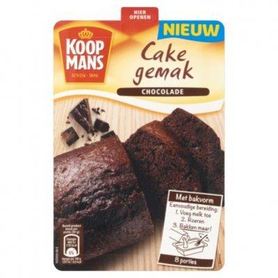 Koopmans Cake gemak chocoladecake