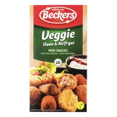 Beckers Vegetarische oven mini snacks