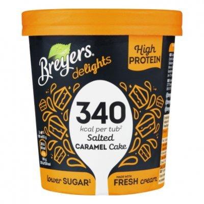 Breyers Salted caramel proteine ijs