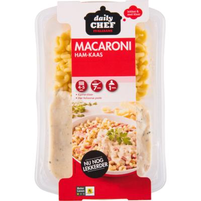 Huismerk Macaroni ham kaas