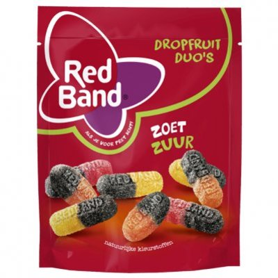Red Band Dropfruit duo's zoet zuur