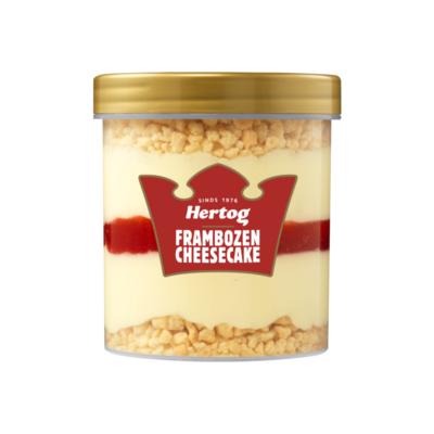Hertog IJsbeker Framboos Cheesecake