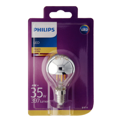 Philips LED kopspiegel 35W E14