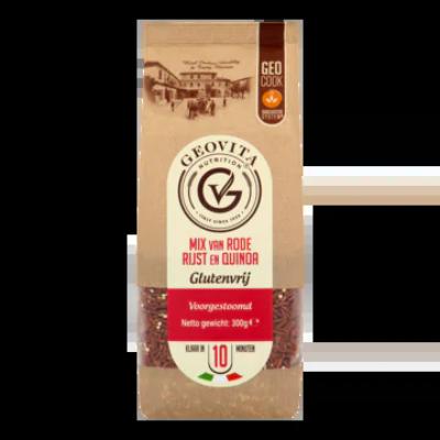Geovita Nutrition Mix van Rode Rijst en Quinoa Voorgestoomd