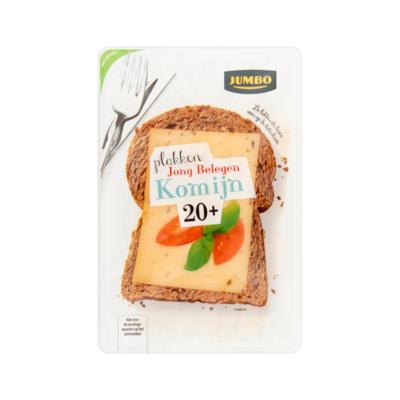Huismerk Jong Belegen Komijn Kaas 20+ Plakken