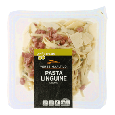 Huismerk Pasta Linquine Carbonara