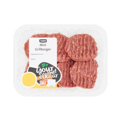 Huismerk Mini Grillburger