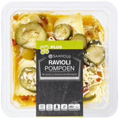 Huismerk &Samhoud Ravioli  pompoen en groenten