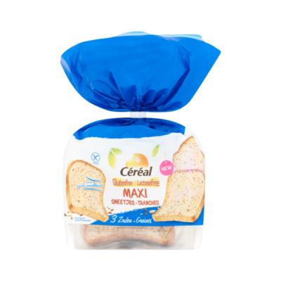 Céréal Glutenfree & Lactosefree Maxi Sneetjes 3 Zaden