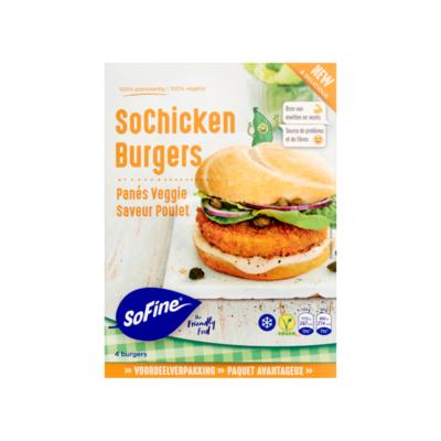 SoFine SoChicken Burgers Voordeelverpakking