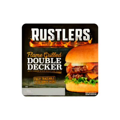 Rustlers Flame Grilled Double Decker