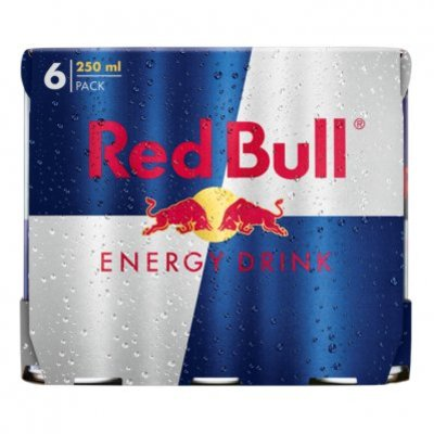 Red Bull Regular 6 pack