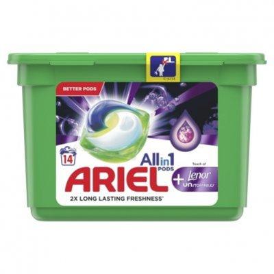 Ariel Allin1 pods+ lenor wascapsules