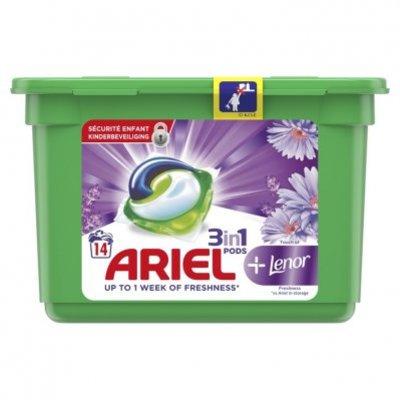 Ariel Pods+ lenor wasmiddelcapsules
