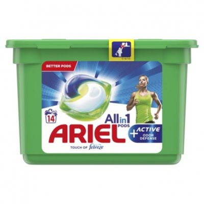 Ariel Allin1 pods+ active wasmiddelcapsules