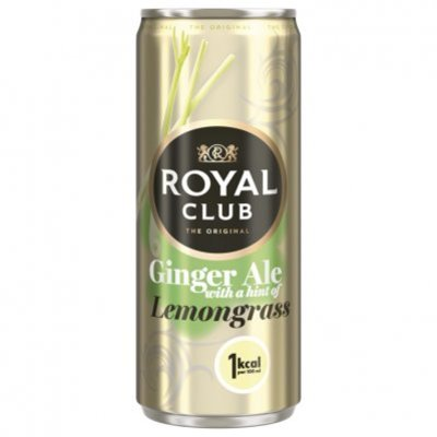 Royal Club Ginger ale lemongrass