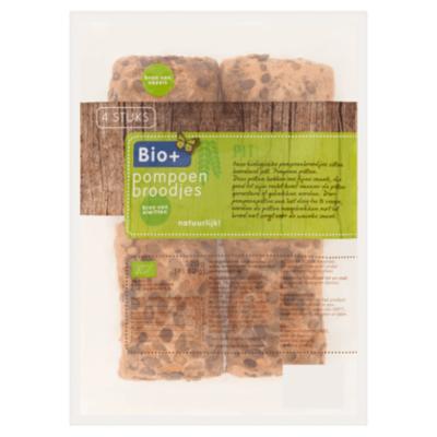 Bio+ Pompoenbroodjes
