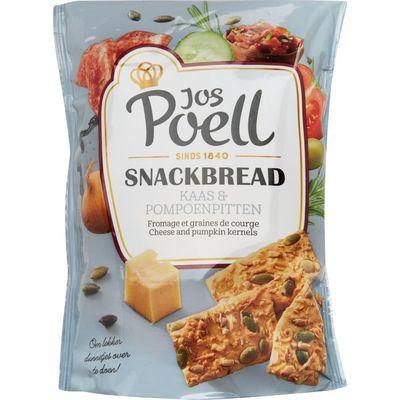 Jos Poell Snackbread Kaas & Pompoen
