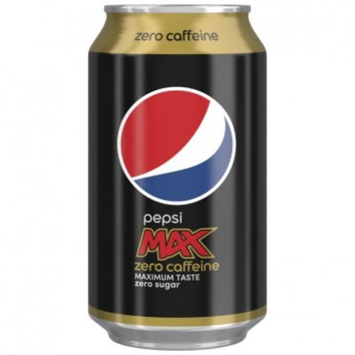 Pepsi Max caffeinevrij
