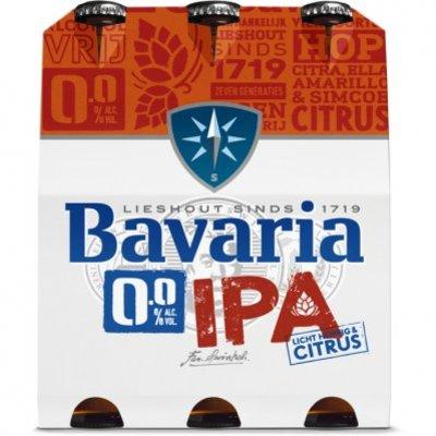 Bavaria 0.0% alcoholvrij IPA bier 6-pack