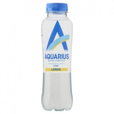 Aquarius Water+ zinc lemon
