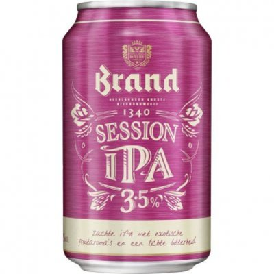 Brand Session ipa blik