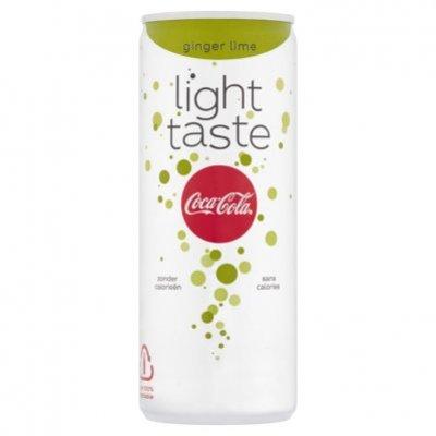 Coca-Cola Light ginger lime