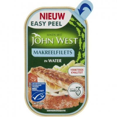 John West Makreelfilet naturel MSC