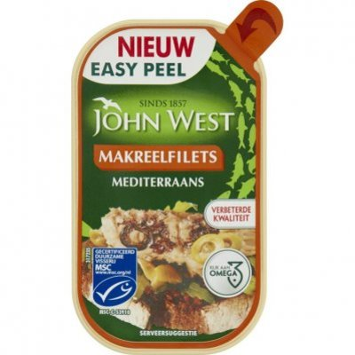 John West Makreelfilet mediteraans MSC
