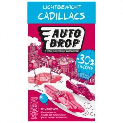 Autodrop  Cadillacs 30% minder calorieën