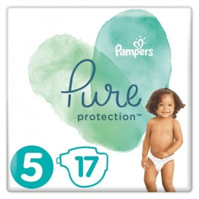 Pampers Pure protection maat 11+ kg maat 5